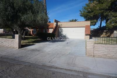 Clark County Single Family Home For Sale: 1438 Rawhide Street