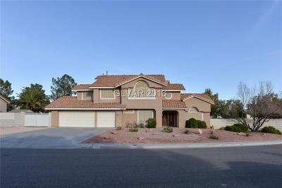 North Las Vegas Single Family Home For Sale: 5608 Clay Ridge Road