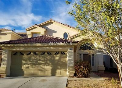 Las Vegas Single Family Home For Sale: 5040 Frozen Springs Court