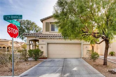 Las Vegas  Single Family Home For Sale: 8025 Villa Avada Court