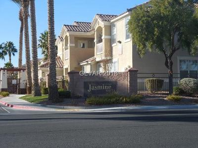 North Las Vegas Condo/Townhouse For Sale: 5855 Valley Drive #2155