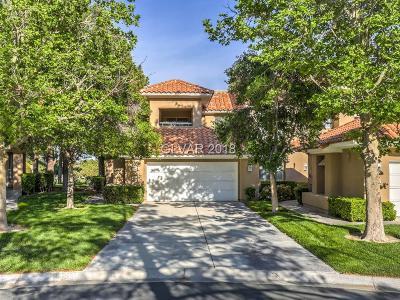 Las Vegas Condo/Townhouse For Sale: 4940 Mt Pleasant Lane