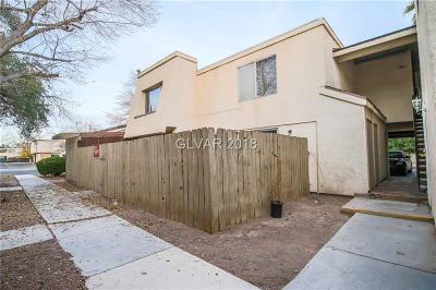 Las Vegas Condo/Townhouse For Sale: 1463 Santa Anita Drive #B