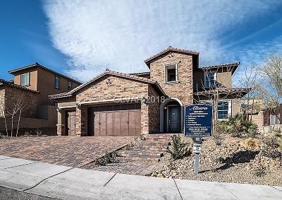 Las Vegas Single Family Home For Sale: 11952 Girasole Avenue