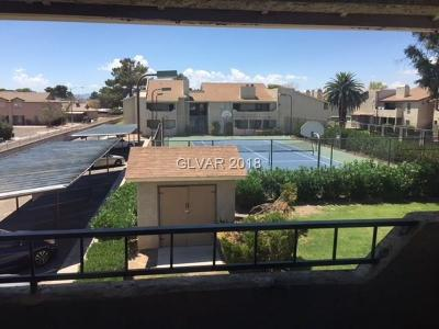 Las Vegas NV Condo/Townhouse For Sale: $65,000
