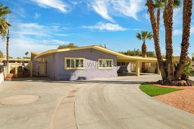 Las Vegas Single Family Home For Sale: 549 Oakey Boulevard
