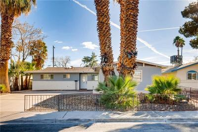 Las Vegas NV Single Family Home For Sale: $199,000