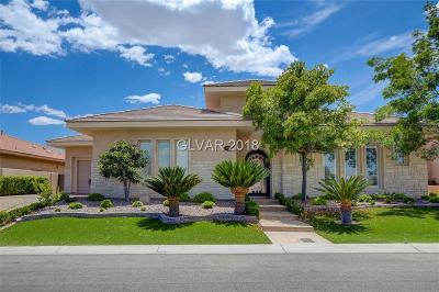 Las Vegas Single Family Home For Sale: 9613 Verlaine Court