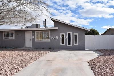 North Las Vegas Single Family Home For Sale: 2612 Bruce Street