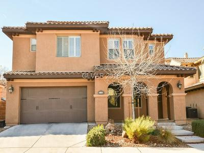 Henderson Single Family Home For Sale: 1057 Via Saint Andrea Place