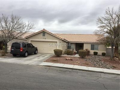 North Las Vegas Single Family Home For Sale: 312 Mindoro Avenue