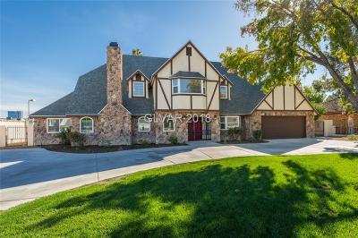 Las Vegas Single Family Home For Sale: 2401 Palomino Lane