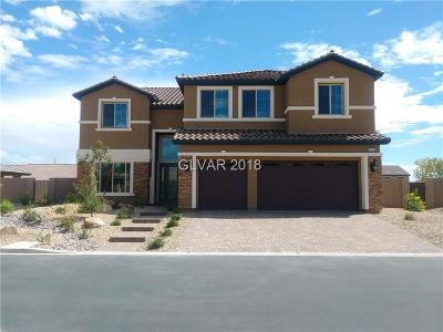Las Vegas Single Family Home For Sale: 3977 Jacob Lake Circle #LOT 3014