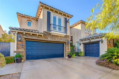 Red Rock, Red Rock Cntry Club At Summerl Single Family Home For Sale: 3299 Mission Creek Court