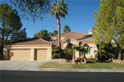 Henderson Single Family Home For Sale: 1968 Troon Drive