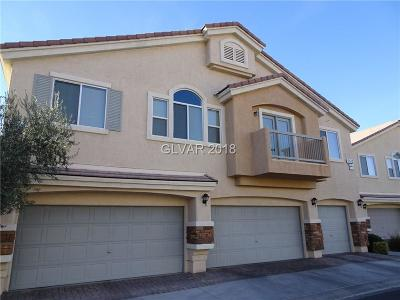 North Las Vegas Condo/Townhouse For Sale: 2073 Arivada Ferry Court #101