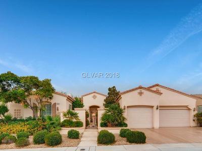 Las Vegas Single Family Home For Sale: 4796 Riva De Romanza Street