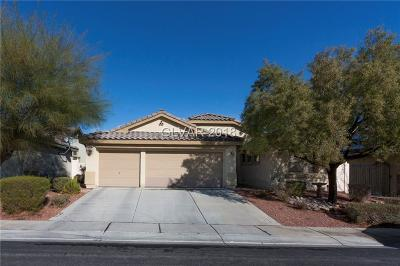North Las Vegas Single Family Home For Sale: 3008 Prairie Princess Avenue