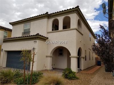 Las Vegas Single Family Home For Sale: 980 Hidden Bull Street