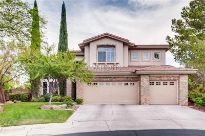 Las Vegas Single Family Home For Sale: 140 South Buteo Woods Lane