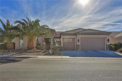 Henderson NV Single Family Home For Sale: $519,900