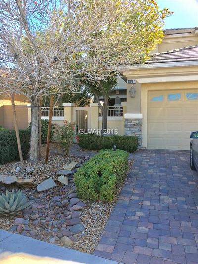 Las Vegas Single Family Home For Sale: 11067 Evvie Lane