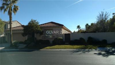 Las Vegas Single Family Home For Sale: 11305 Parleys Cone Court