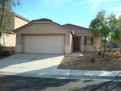 North Las Vegas Single Family Home For Sale: 2821 Swanson Avenue