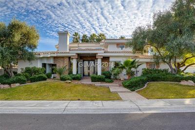 Henderson, Las Vegas Single Family Home For Sale: 1895 Fairfield Terrace