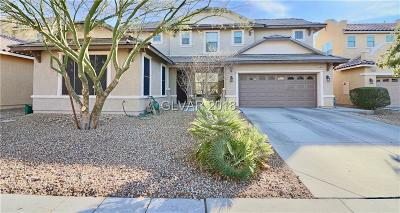 North Las Vegas Single Family Home For Sale: 2833 White Peaks Avenue