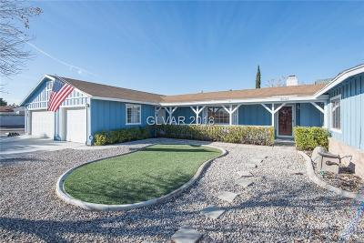 North Las Vegas Single Family Home For Sale: 4531 Pony Express Street