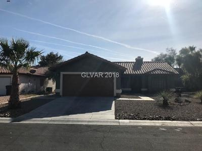 North Las Vegas Single Family Home For Sale: 3605 Uranus Drive