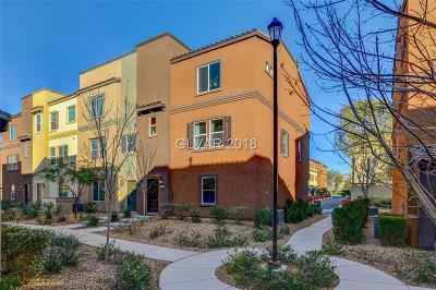 North Las Vegas Condo/Townhouse For Sale: 4650 Ranch House Road #48