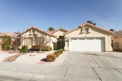 North Las Vegas Single Family Home For Sale: 3524 Strawberry Roan Road