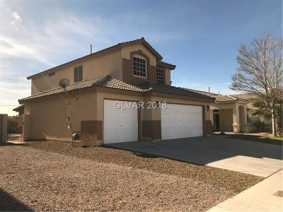 North Las Vegas Single Family Home For Sale: 3513 Fishers Landing Avenue