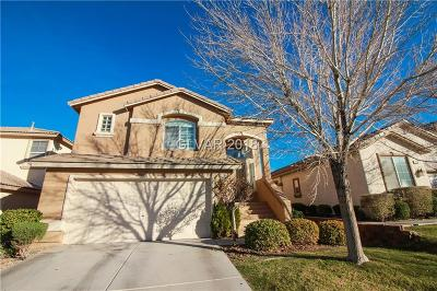 Las Vegas Single Family Home For Sale: 7246 Bird Cherry Street