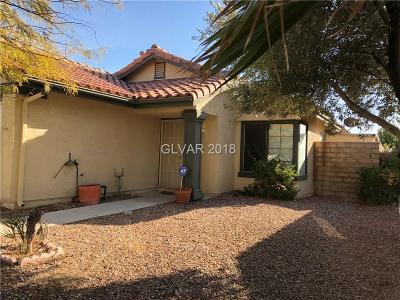 Las Vegas Single Family Home For Sale: 7385 Coffeyville Avenue