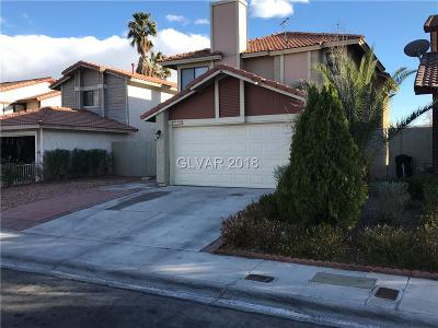 Las Vegas Single Family Home For Sale: 8129 Leger Drive