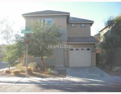 Las Vegas Single Family Home For Sale: 5287 Starter Avenue