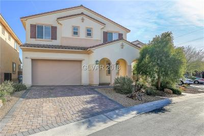 Las Vegas Single Family Home For Sale: 9876 Cove Haven Court