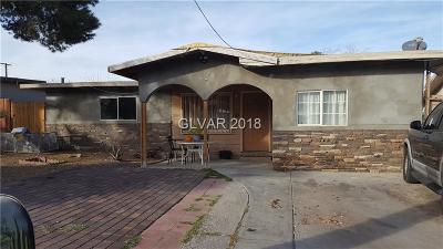 Las Vegas NV Single Family Home For Sale: $128,900
