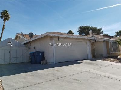 Las Vegas NV Single Family Home For Sale: $245,900