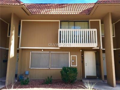 Las Vegas Condo/Townhouse For Sale: 2449 Paradise Village Way