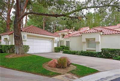Las Vegas Condo/Townhouse For Sale: 7068 Bright Springs Court
