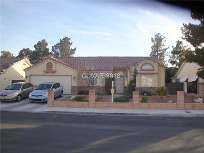 Las Vegas NV Single Family Home For Sale: $259,000