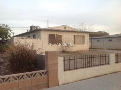 North Las Vegas NV Single Family Home For Sale: $149,900