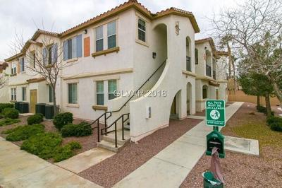 Henderson NV Condo/Townhouse For Sale: $195,000