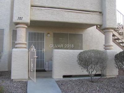 Las Vegas Condo/Townhouse For Sale: 948 Falconhead Lane #101