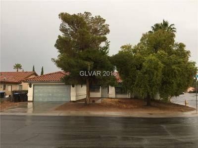 North Las Vegas Single Family Home For Sale: 4444 Whelk Place