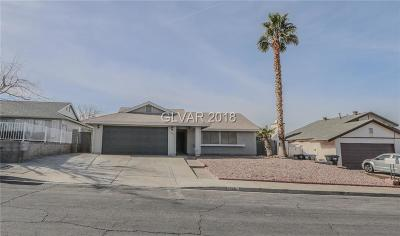 Henderson NV Single Family Home For Sale: $259,999